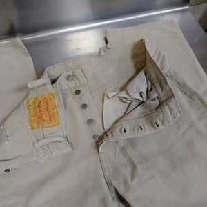 Levi's 501XX Original Button Fly Size 38x32 Jeans!